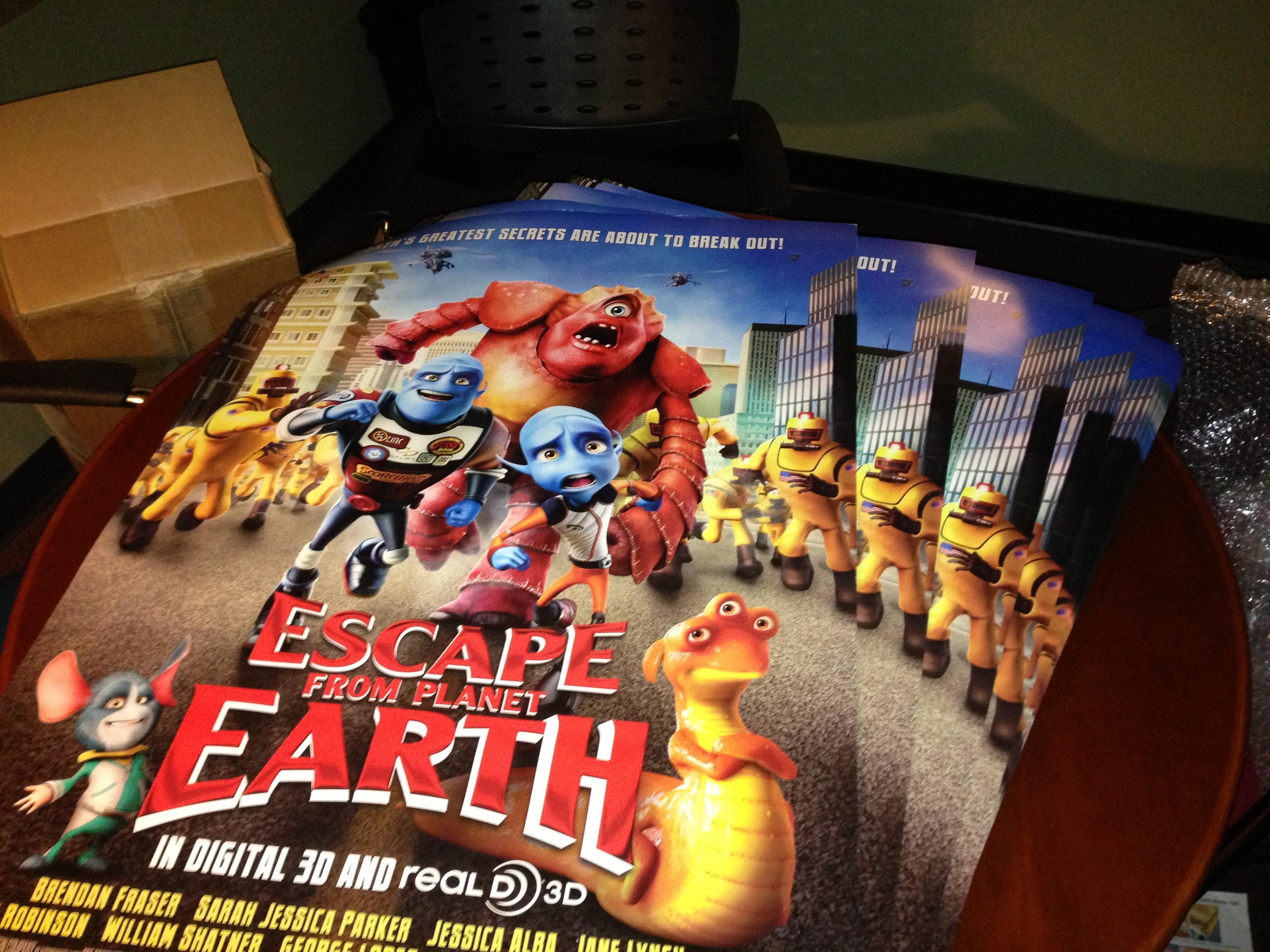 Big stack 'o posters