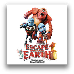 orignal score CD small Escape From Planet Earth Score